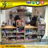 Quality Wholesale Factory Price Top Quality Wood Shop Cash Counter Design With Lighting for sale