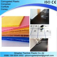 Quality Printable PP Corrugated Plastic Board for sale