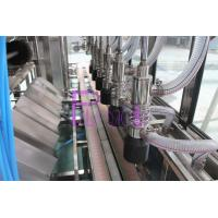 Four Washing Steps Automatic Water Filling Machine With Stainless Steel Chain