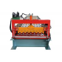 Quality PLC Program Corrugated Roof Sheet Making Machine Automatic Producing With Hand Touch Screen for sale