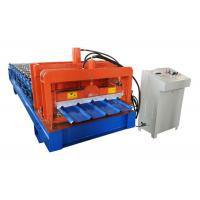 Quality High Build Roofing Sheet Roll Forming Machine 12 Forming Steps With PLC Automatic Program for sale