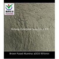 China Size 100F, 200F, 325F Powder Brown Fused Aluminum Oxide / Aluminum Oxide Blasting Abrasive on sale