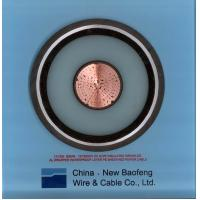 China 110 ~ 220KV XLPE Insulated underground High Voltage Cable 90℃ 240mm2 ~ 3000mm2 on sale
