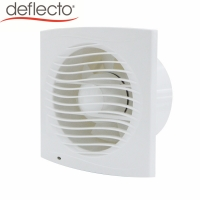 China HVAC Plastic Ceiling Fan Wall Mounted 100 MM Fan Kitchen 4 Inches Exhaust DC Air Fan on sale