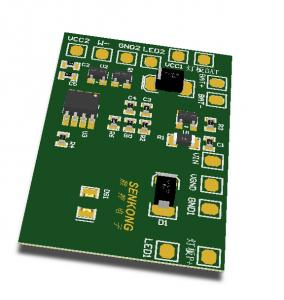 China Adjustable Brightness Touch Button 32W Custom PCB Assembly on sale