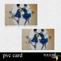 China CR80 Blank Printed Plastic Cards Printing Magnetic Stripe CMYK on sale