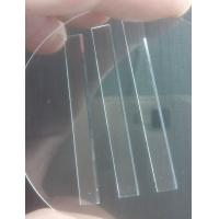 Quality Wear Resistance Sapphire Parts Aluminum Oxide Crystal Substrate Glass Blade For Razor for sale
