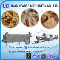 Quality Soya protein food extrusion process line/machine for sale