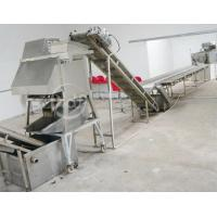 Industrial Automatic Potato Chips Making Machine Electric Heating ISO / CE