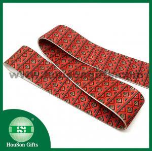 Quality customized elastic clothing band custom classic check design elastic band for sale