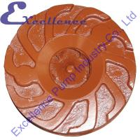 Buy cheap Corrosion Resistant Erosion Resistant Industrial Slurry Pump Impeller from wholesalers