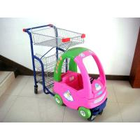 Quality Children Supermarket Kids Shopping Trolley Series HBE-K-9 with smooth running for sale