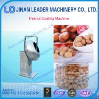 Quality hot sell peanut sugar coating, machine for soybean cashew pecan, walnut stainless steel for sale