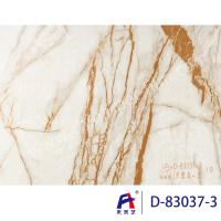 Quality Durbale Marble Grain Pvc Film Roll Suitable Wall Panel Convenient Construction for sale