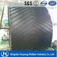 Buy cheap Low abrasion high tensile strength Ep Chevron Rubber Conveyor Belt with ISO9001 from Wholesalers
