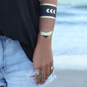Quality Jewelry Metallic tattoo for sale