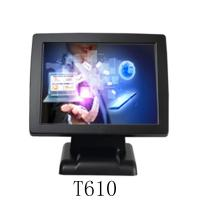 Quality Plastic Aluminium Alloy Base Resistive Touch Screen Epos 8 Digital Display VFD220 J1900 Pos Machine Bordered Thick T610 for sale