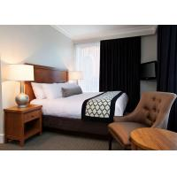 Classic 3 Star Modern Hotel Bedroom Furniture / Budget Hotel Furniture