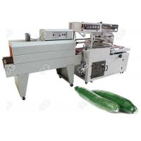 Quality Industrial Food Packing Machine L Bar Cucumber Shrink Wrap Machine With Photoelectric Detection for sale