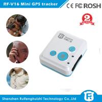 Quality Original Reachfar rf-v16 mini gps tracker two way voice personal gps tracker with sos panic button for kids and elder for sale
