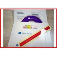 Quality Win10 Pro 64 Bit DVD Windows 10 Product Key Code Made In Singapore Activated Global Area for sale