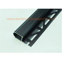 Buy Anodized Black Metal Stair Nosing For Tile With Curved Edge Long  Lifespan At Wholesale Prices ...