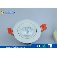 Quality Constant Current IC Driver LED Spot Lights 20W 120° Beam Angle COB Chip 2000 Lumen for sale