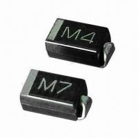Quality SMD Rectifier Diodes, M1/M2/M3/M4/M5/M6/M7, 1A, 50V to 1000V, SMA for sale