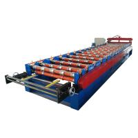 Buy Wall And Roof Panel Roll Forming Machine For Coil Width 1219mm , High Speed at wholesale prices