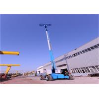 Quality 4*4 Telescopic Boom Lift Auto Control Against Danger 4 WD Options  For Rough Terrain for sale