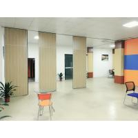 Quality Aluminium Alloy Melamine Surface Soundproof Movable Wall Dividers 65 mm Thickness for sale