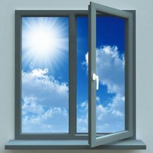 China Aluminium Plastic Steel Window with Leaf Casement Window and Door on sale