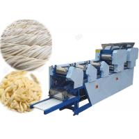Quality 300kg / H Automatic Chow Mein Making Machine , Durable Udon Maker Machine for sale