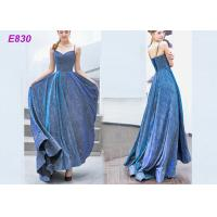 Quality The starry sky skirt spaghetti strap a line evening formal party dress for sale