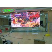 Buy cheap Front Services Panels With Magnet Module HD P2 indoor full color led screens from wholesalers