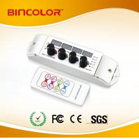 Buy cheap DC12V 4 channel led light rgbw controller with RF remote from wholesalers