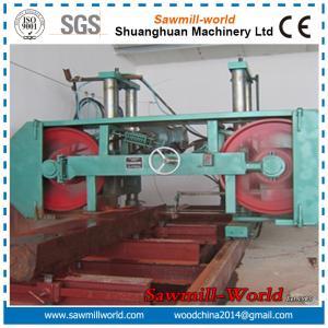 China truly manufacturer !!! large size automatic teak log horizontal band saw on sale