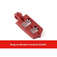 Quality 6G Nylon PA Snap-on Breaker Lockout for Different Size Switch Button for sale