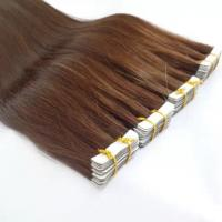 """Quality Fast shipping high quality 100% human  hair  Brown  10"""" to 30""""  Silky Straight Tape  Hair Exentsions for sale"""