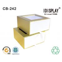Pvc Window Custom Printed Decorative Small Cardboard Gift Boxes