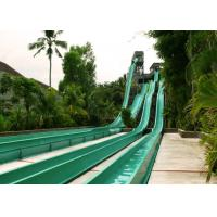 China Multicolor High Speed Water Slide , Fiberglass Big Water Slides For Adults on sale