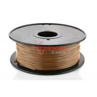 Quality Cubify / Reprap wood 3d printer filament , 3d printing material ABS and PLA for sale