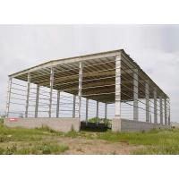 Quality Pre Engineered Steel Structure Warehouse Sheds Light Weight Uniform Material for sale
