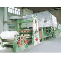 Quality Double-Dryer Can and Double-Cylinder Mould Corrugating Paper Machine for sale