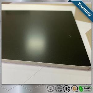 Quality Matt Black High Grade Aluminum Mirror Sheet Composite Panel For Decoration Billboard for sale