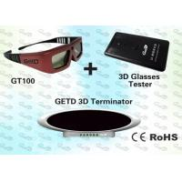 Quality OEM 3D Emitter and IR 3D Glasses for 40~150 Seat Cinema for sale