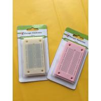 Quality Round Hole Bread board Small Test Board Colored For 29AWG - 20AWG Wires for sale