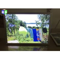 Quality Front Load Easy Open Led Snap Frame Light Box 24 X 36 Inches Silver Metal Frame for sale
