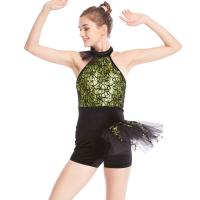 26f36eeac ... Quality Biketard Jazz Costume Dance Wear Sequins Gymnastics Performance  Dance Competition Clothes for sale