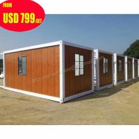 Quality 20ft 40ft luxury prefab shipping container homes for sale in usa for sale